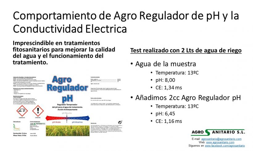 Agro Regulador PH